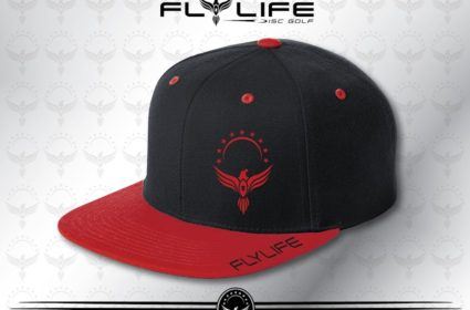 afaf4d6a9f6 Fly Life Bird - Black Red Hat