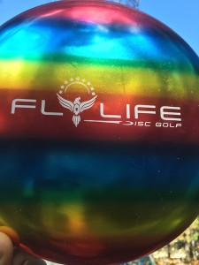 Rainbow Fly Life Disc